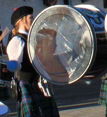 Drums of Lewis Pipe Band